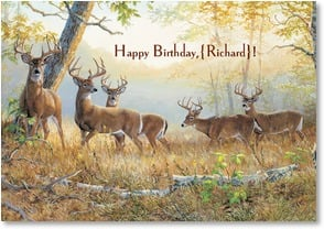 Birthday Card - Hope The Big Bucks Come Your Way | Persis Clayton Weirs | 2000819-P | Leanin' Tree