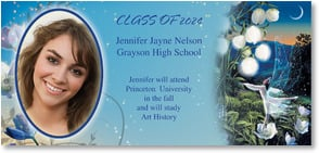 Graduation Announcement - Enchanting Dance - 2000845-P | Leanin' Tree