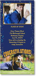 Graduation Announcement - Congratulations, Dog-gone-it! | Ron Dahlquist | 2000853-P | Leanin' Tree