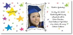 Graduation Announcement - Hurray! | Marianne Richmond | 2000863-P | Leanin' Tree