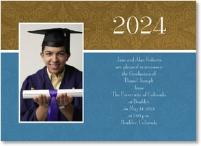 Graduation Announcement - Elegant Achievement | LT Studio | 2000873-P | Leanin' Tree