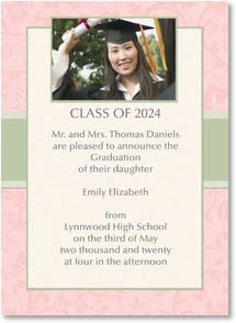 Graduation Announcement - Announcing a Graduation | LT Studio | 2000882-P | Leanin' Tree