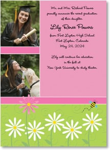 Graduation Announcement - Daisies for the Grad | Vicky Howard | 2000885-P | Leanin' Tree