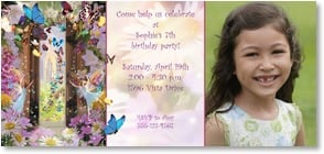 Birthday Invitation - You're invited to an enchanted event... | Garry Walton | 2000897-P | Leanin' Tree