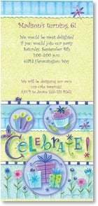Birthday Invitation {Age/Year} - Celebrate! | Tina Wenke | 2000899-P | Leanin' Tree