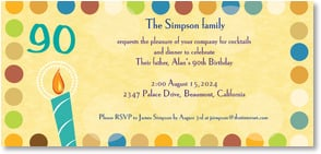 Birthday Invitation {Age/Year} - A Big Year! | LT Studio | 2000902-P | Leanin' Tree