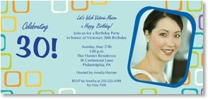 Birthday Invitation {Age/Year} - Let's Celebrate! | LT Studio | 2000908-P | Leanin' Tree