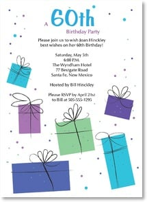 Birthday Invitation {Age/Year} - Gifts Galore | LT Studio | 2000932-P | Leanin' Tree