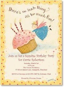 Birthday Invitation - There's no such thing as too much fun! | Dan DiPaolo | 2000933-P | Leanin' Tree
