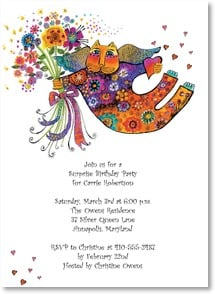 Birthday Invitation - Join us for a birthday party... | Laurel Burch™ | 2000934-P | Leanin' Tree