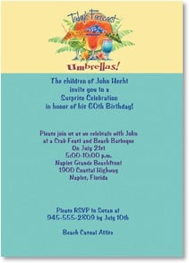 Birthday Invitation - dropped 12/17/2012 | Illustrated Escapes, Inc. | 2000935-P | Leanin' Tree