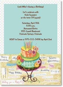 Birthday Invitation - Sweet Collage | Lori Siebert | 2000955-P | Leanin' Tree