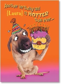 Birthday Invitation - Hotter Than Ever | Harvey Gariety | 2000969-P | Leanin' Tree