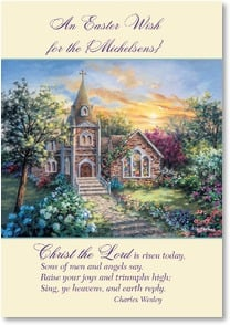 Easter Card - Peace From God Our Father; Romans 1:7 | Nicky Boehme | 2001008-P | Leanin' Tree
