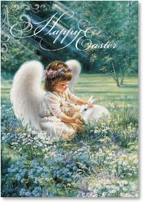 Easter Card - A Little Touch of Heaven | Dona Gelsinger | 2001021-P | Leanin' Tree