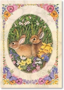 Easter Card - Happy Easter, Happy Spring, Happy Everything! | Anne Mortimer | 2001024-P | Leanin' Tree