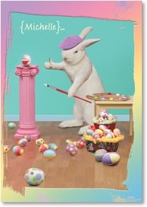 Easter Card - Hope Your Easter is a Masterpiece...Just Like You! | John Lund | 2001034-P | Leanin' Tree