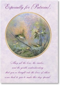 Birthday Card - May Good Things Come Back to You | Larry K. Martin | 2001044-P | Leanin' Tree