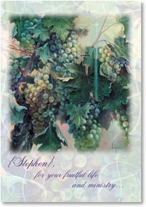 Thank You & Appreciation Card - A Fruitful Life and Ministry | Sandy Bergeron | 2001067-P | Leanin' Tree