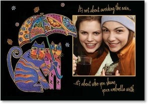 Friendship Card - The Best Friend Under the Rain & Sun! | Laurel Burch™ | 2001140-P | Leanin' Tree