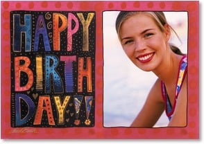 Birthday Card - Staff Pick - Hope It's Wonderful, Just Like You! | Laurel Burch® | 2001141-P | Leanin' Tree