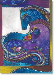 Birthday Card - You color my world with so much joy! | Laurel Burch™ | 2001145-P | Leanin' Tree