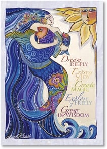 Graduation Card - May all you've dreamed of unfold for you | Laurel Burch&amp;reg; | 2001149-P | Leanin' Tree
