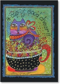 Feel Better Card - You'll Soon be Feline Better | Laurel Burch™ | 2001164-P | Leanin' Tree