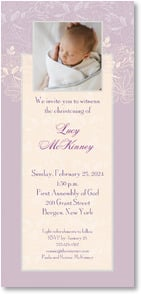 Christening Invitation - We invite you to witness a christening. | LT Studio | 2001181-P | Leanin' Tree