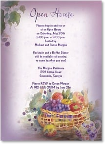 Party/Event Invitation - Bountiful Harvest | Judy Buswell | 2001205-P | Leanin' Tree