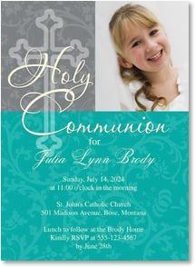 First Communion Invitation - Holy Communion | LT Studio | 2001212-P | Leanin' Tree