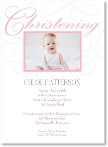 Christening Invitation - Invitation to a Christening | LT Studio | 2001213-P | Leanin' Tree