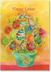 Easter Card - Every shade of happy! | Sue Zipkin | 2001268-P | Leanin' Tree