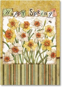 Happy Spring Card - Wishing you sunshine & happiness! | Tim Coffey | 2001270-P | Leanin' Tree