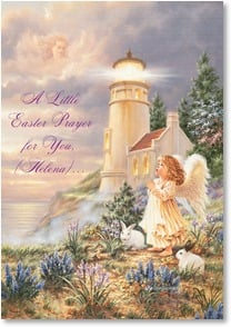 Easter Card - Love and Hope of Easter; Romans 15:13 | Dona Gelsinger | 2001272-P | Leanin' Tree