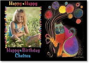 Birthday Card {Age} - Birthday Wishes To A Special You! | Laurel Burch&amp;reg; | 2001298-P | Leanin' Tree
