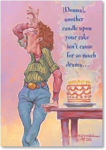 Birthday Card - You're One Red Hot Mama | Mike Scovel | 2001325-P | Leanin' Tree