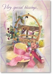 Birthday Card - For a very special you; Isaiah 30:29 | Judy Buswell | 2001346-P | Leanin' Tree