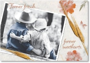 Anniversary Card - Forever Sweethearts | Christina Bynum Breaux | 2001394-P | Leanin' Tree