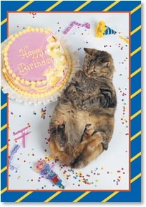 Birthday Card - Bite off More than You can Chew | Kimball Stock | 2001540-P | Leanin' Tree