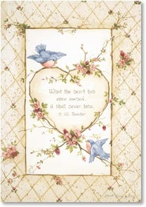 Sympathy Card - May you find comfort in loving memories | Sandi Gore Evans | 2001616-P | Leanin' Tree