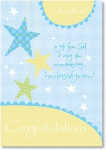 Baby Congrats - Boy - Perfect Gift: James 1:17 | Intrinsic by Design® | 2001625-P | Leanin' Tree