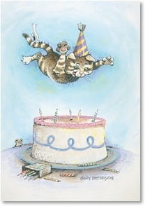 Birthday Card - Staff Pick - Show No Restraint! | Gary Patterson | 2001649-P | Leanin' Tree
