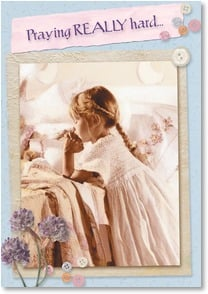 Praying For You Card - Things Will Get Easier: Jeremiah 33:3 | Betsy Cameron | 2001671-P | Leanin' Tree