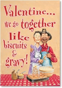 Valentine's Day Card - So... Can I kiss the cook? | Boots Reynolds | 2001705-P | Leanin' Tree