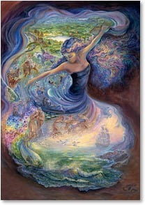 Birthday Card - Hopes, Dreams & Desire of Your Heart | Josephine Wall | 2001706-P | Leanin' Tree
