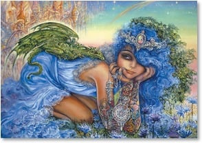 Birthday Card - You charm the world with magic | Josephine Wall | 2001707-P | Leanin' Tree