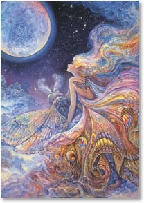 Birthday Card - To the Places of Your Dreams | Josephine Wall | 2001708-P | Leanin' Tree