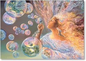 Birthday Card - You touch touch the world with magic | Josephine Wall | 2001716-P | Leanin' Tree