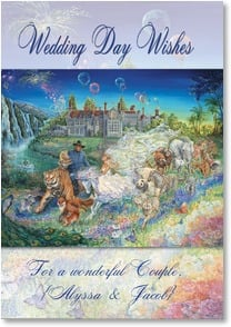 Wedding Card - Magical Moments to Remember | Josephine Wall | 2001720-P | Leanin' Tree
